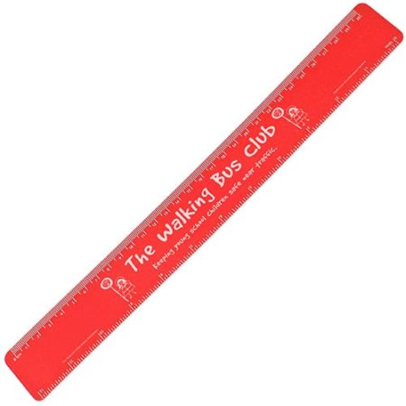 30cm Recycled Flexi Rulers Red 450x450 - 30cm Recycled Flexi Ruler