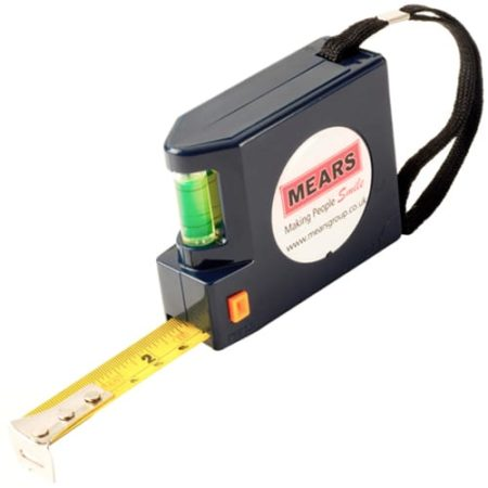 5m spirit level tape measure new 450x450 - Spirit Level Tape Measures