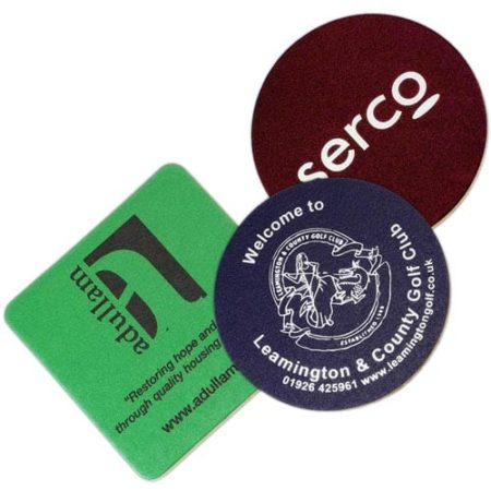 Bonded Leather Cork Coaster group 450x450 - Bonded Leather Coasters