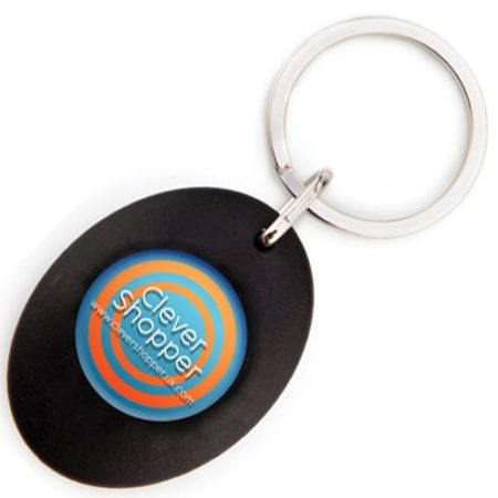 Carro Trolley Coin Keychains black new 450x450 - Carro Trolley Keyring
