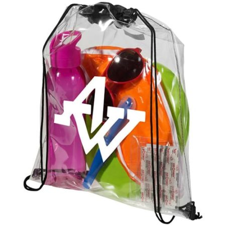 Lancaster Clear PVC Backpacks new 450x450 - Clear PVC Drawstring Rucksacks