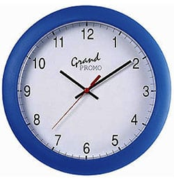 Original 6 - Rectangular Brite-Clock Wall Clock