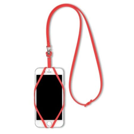 Smartphone silicone hangers red phone 450x450 - Smartphone Silicone Holder