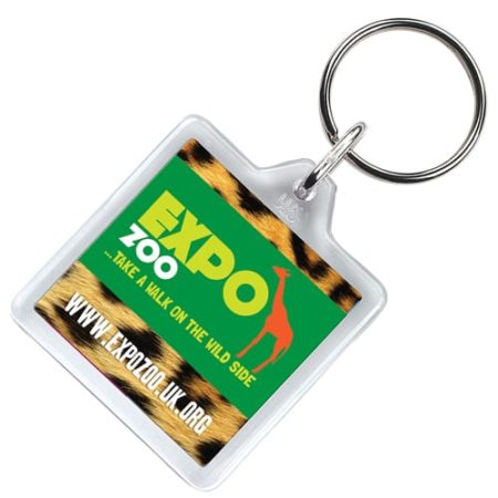 Square Keyring new 450x450 - Square Keyrings