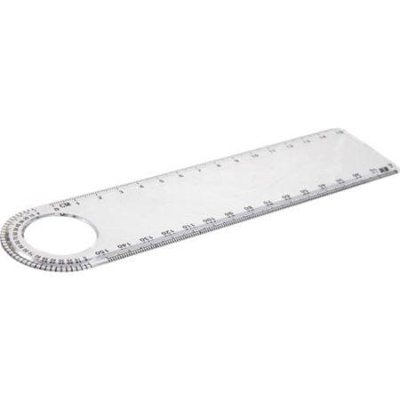 Transparent 15cm Loop Rulers 450x450 - 15cm Transparent Loupe Ruler