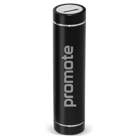Tube Power Banks black 2017 450x450 - Cylinder Power Bank