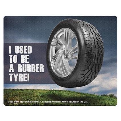 brite mat tyre mouse mats - Tyre Mouse Mat