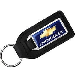 crwn m11021 ep large rectangular shaped epoxy domed medallion leather keyrings - Large Rectangular Shaped Medallion Leather Keyfob