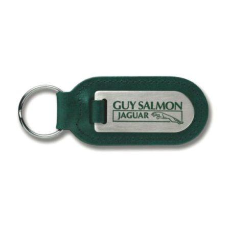 large cigar shaped medallion leather key fob 119 1 450x450 - Large Cigar Shaped Medallion Leather Keyfob