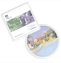 photo acrylic coaster - Colour Acrylic Coasters