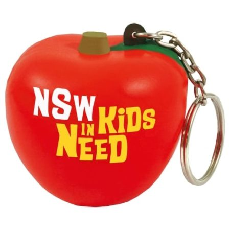 s0037 02 tomato keyring v1 450x450 - Apple Stress Toy Keyrings