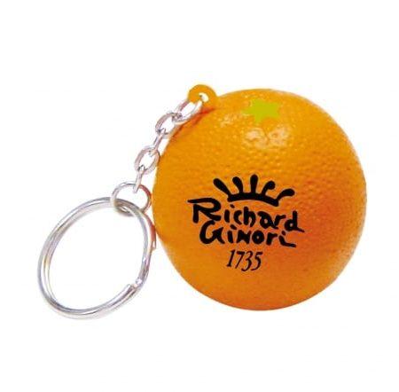 s0052 orange keyring v1 450x442 - Orange Stress Toy Keyrings