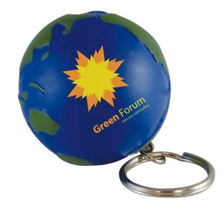 s0111 03 globe keyring v1 450x450 - Globe Stress Toy Keyrings