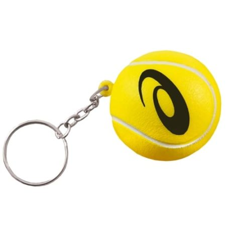 s0148 05 tennis ball keyring v1 1 450x450 - Tennis Ball Stress Toy Keyrings