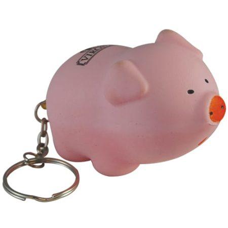 s0155a 08 pig keyring v1 450x450 - Pig Stress Toy Keyrings