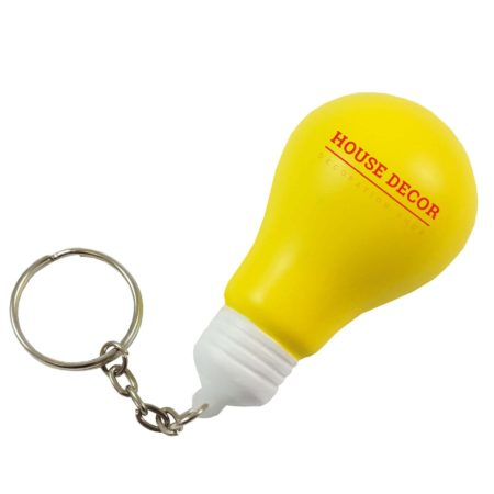 s0216 05 light bulb keyring v1 450x450 - Light Bulb Stress Toy Keyrings