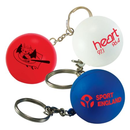 s1187 stressball keyring v4 450x450 - Ball Stress Toy Keyrings