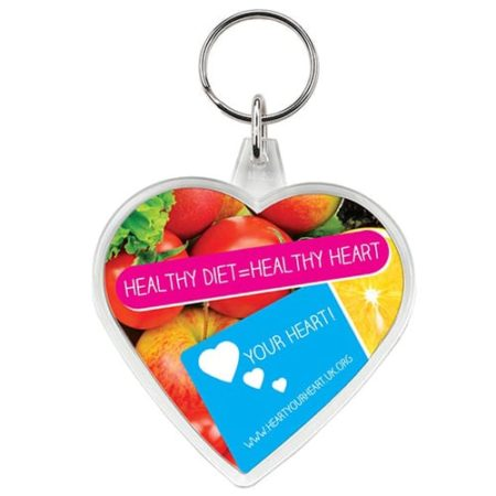 shaped plastic keyrings heart new 450x450 - Heart Shaped Acrylic Keyrings
