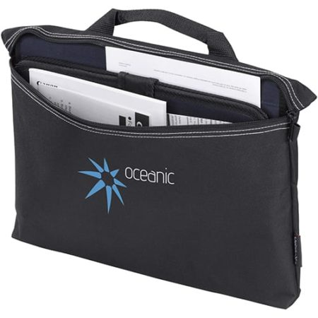 zipper conference bag open new 450x450 - Zipper Conference Bag