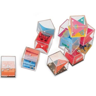 Acrylic Cube Patience Game 35 - Puzzle Cubes