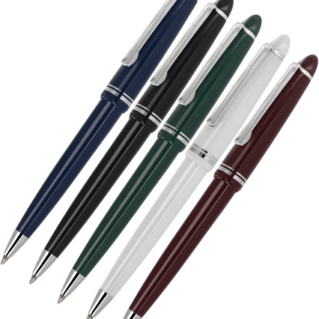 Alpine Chrome Ballpen Family 450x450 - Alpine Silver Trim Ball Pens