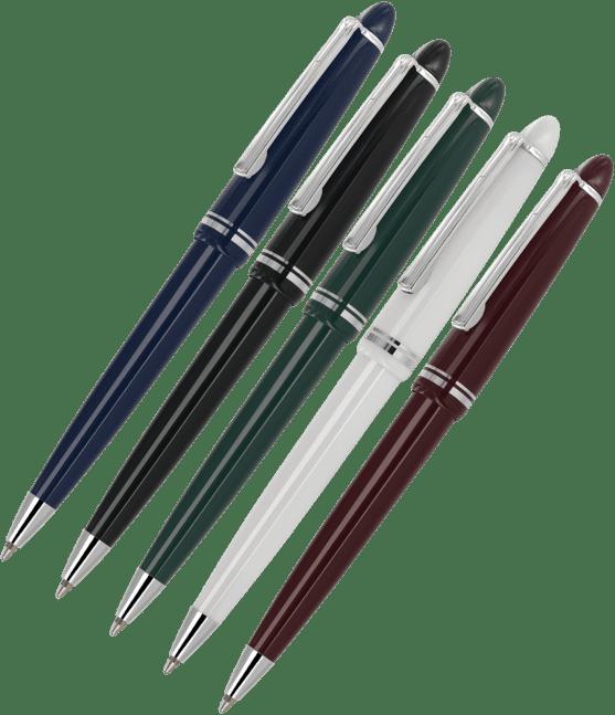 Alpine Silver Trim Ball Pens Adgiftdiscounts