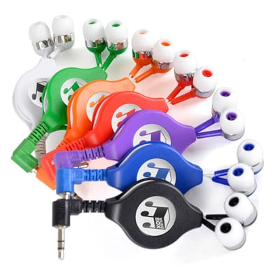 GG0537 GROUP - Extendable Earphones