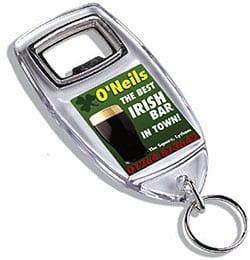 KEYRING - Acrylic Keyring Bottle Opener