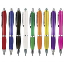TPCPN0046 - Printed Curvy Ball Pen