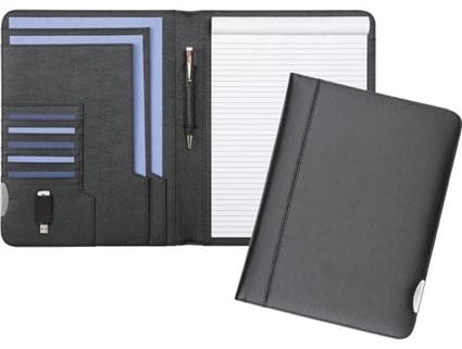 black fordcombe a4 conference folders 425x321 - A4 Conference Wallets