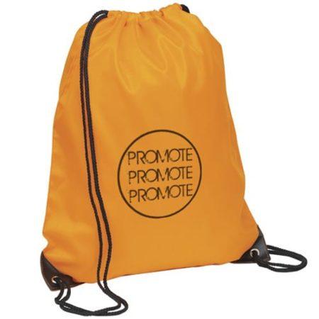 promotional drawstring rucksack orange3 450x450 - Promo Drawstring Rucksacks
