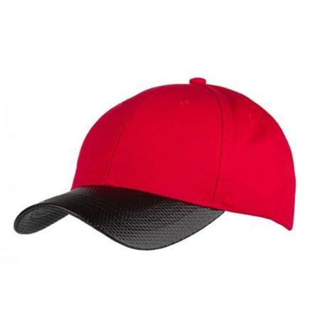 Carbon Fibre Effect Caps red 450x450 - Carbon Fibre Effect Cap