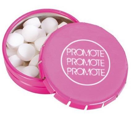 Click Mint Tins Pink Open TM LOGO - Mint Click Tins