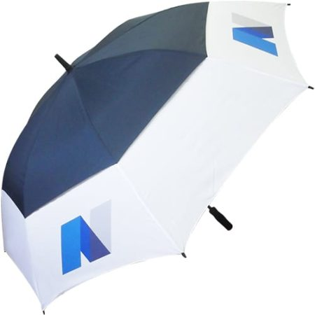 Tour Vented Umbrellas bluewhite new 450x450 - Automatic Tour Vented Umbrella