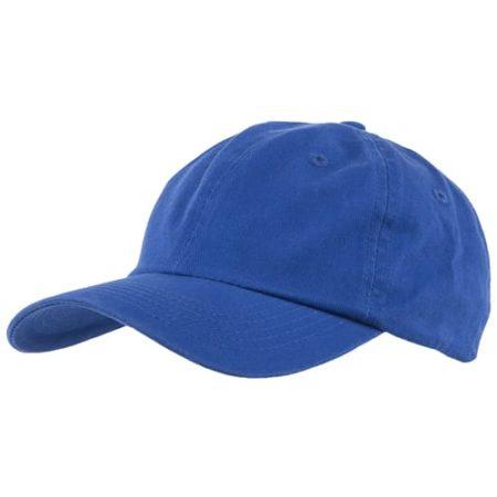 Washed chino cotton caps royal blue new 450x450 - Washed Chino Cap