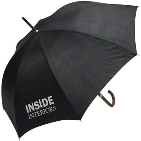 woodstick umbrella black new 450x450 - Woodstick Umbrella