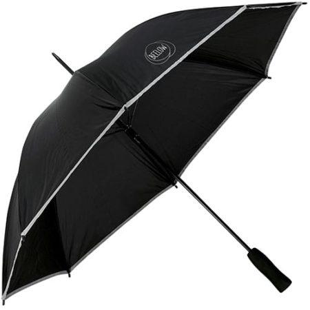 Reflective Lightweight Storm Umbrellas black 450x450 - Reflective Lightweight Umbrella