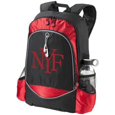 15 Inch Benton Laptop Backpacks Black Red2 new 450x450 - 15 Inch Benton Laptop Backpack