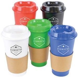 7 2 - Personalised Cafe Take-Away Mugs