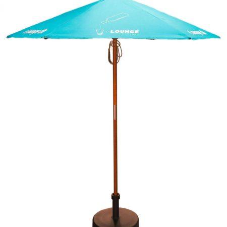 2PAR 2m20Wooden20Parasol upright 450x450 - Personalised 2m Wooden parasol