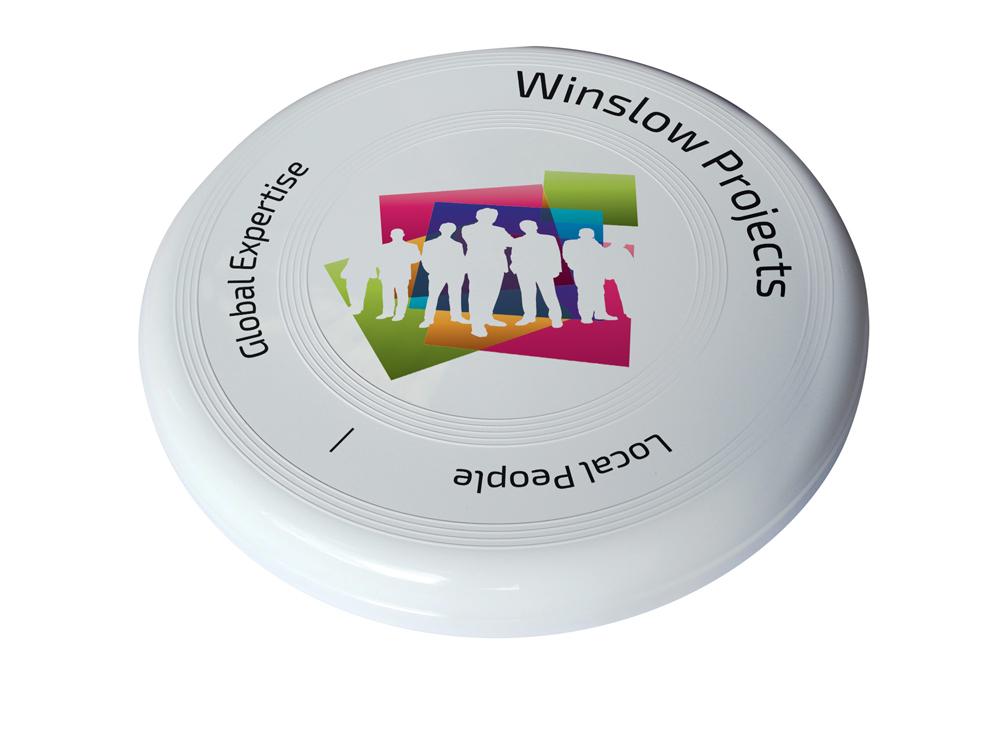 5290 white - Large Frisbee