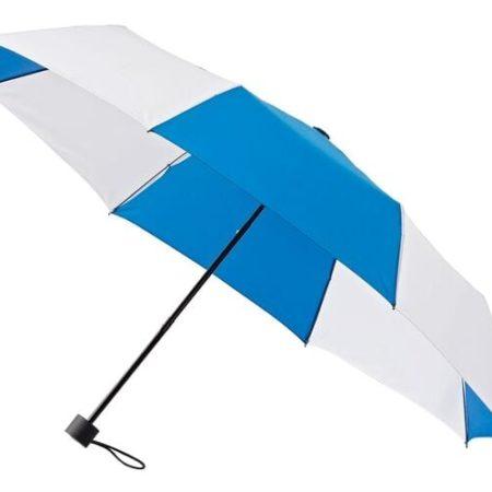 6DUO standard blue26white 450x450 - DuoMini Umbrellas