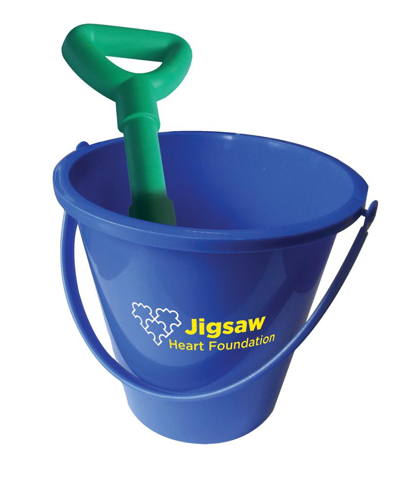 8382 blue - Bucket & Spade