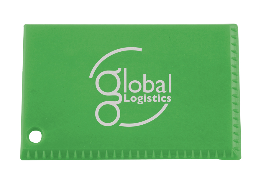 8503 green - Credit Card Ice Scraper
