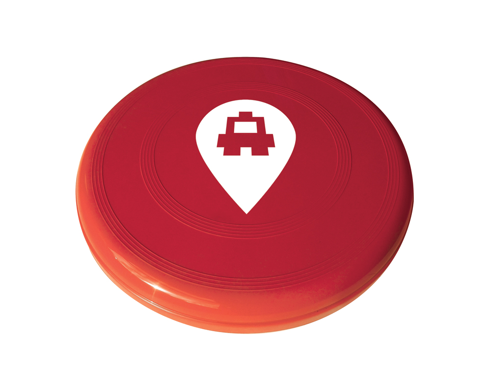 8844 red - Dog Frisbee
