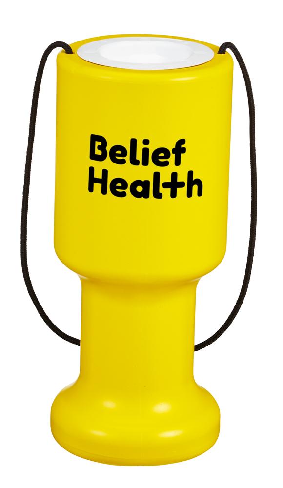 8851 Yellow - Hand Held Charity Box