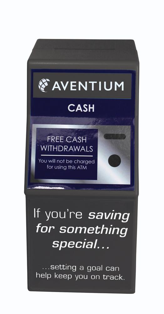 8983 black - ATM Money Box