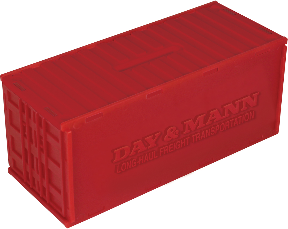 8984 red - Personalised Cargo Money Box