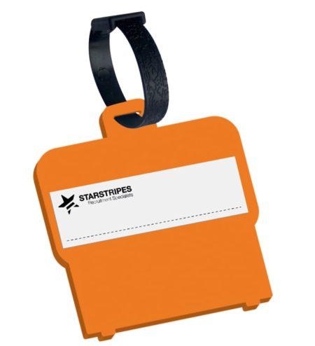 9529 orange 1 450x494 - Shaped Luggage Tag