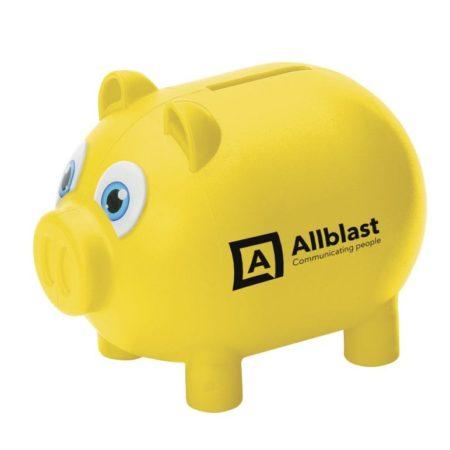 9996 yellow 1 450x450 - Personalised Money Pig